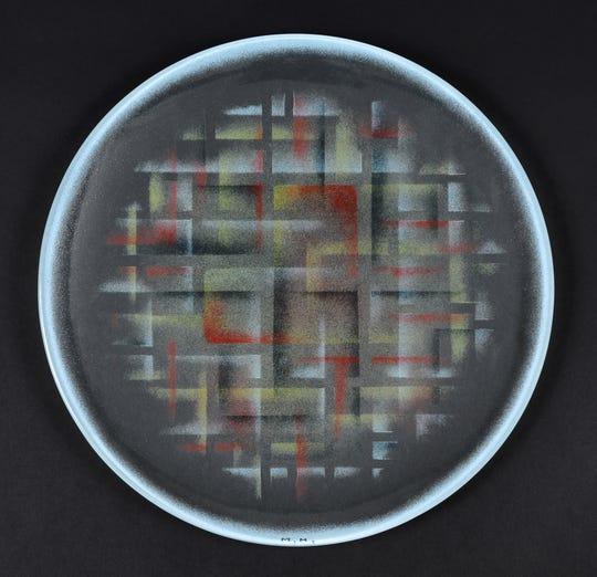 Maurice Heaton: Untitled, Glass Plate,