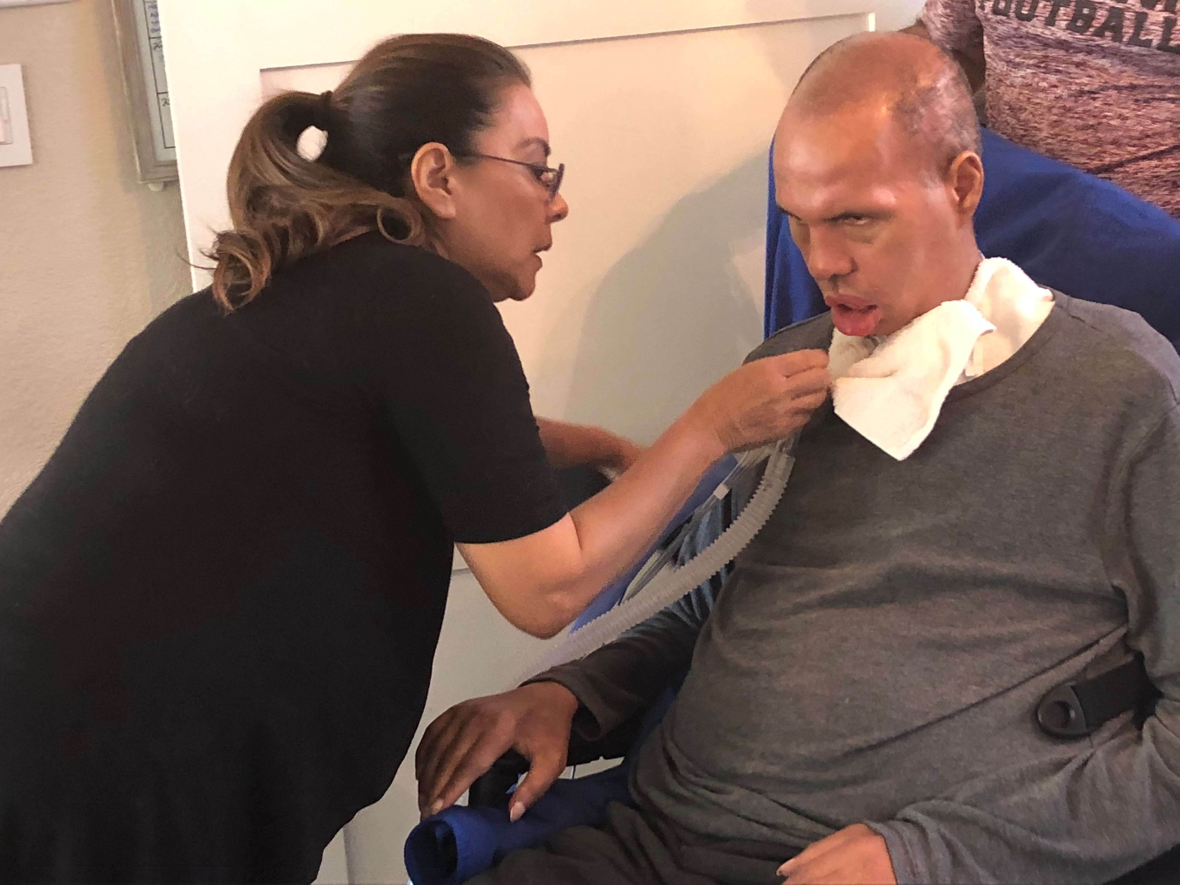 He s still Superman in our eyes : How ex-Penn State football player fights on despite ALS