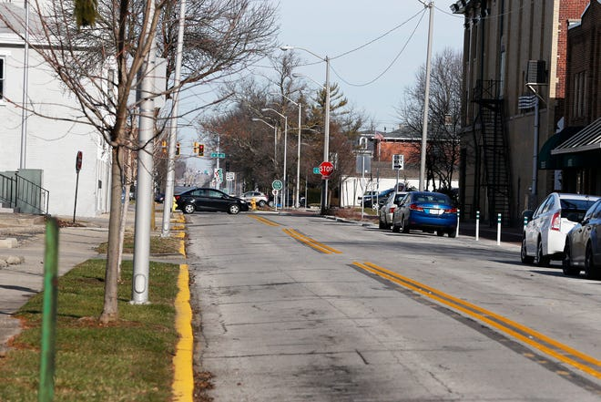 10th Street from South A to North A would be repaved if the city of Richmond receives funding from the state's Community Crossings program.