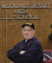 Bob Bradley retired from McQuaid in 2006 after 46 years as an English teacher. He also coached cross country and track for many years and founded the McQuaid Invitational in 1965.