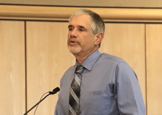 Donnell Ewert, director of the Shasta County Health and Human Services Agency
