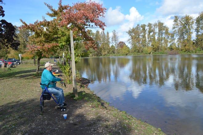 Walter Wirth lake in Salem at Cascades Gateway Park.