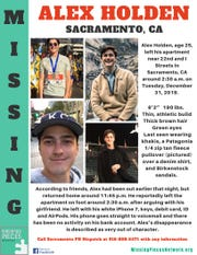 Missing Pieces Network circulated information about Alex Holden on Jan. 6, 2020.