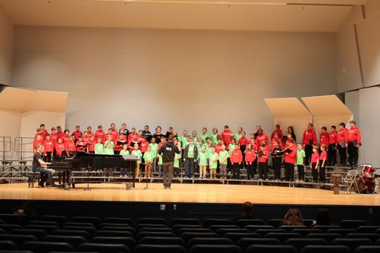The KidSing 2020: Music Changes the World concert begins at 4 p.m. Jan. 11 in the Benedicta Arts Center at the College of St. Benedict.