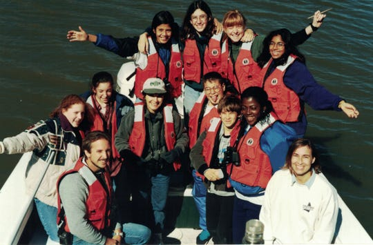 Twenty years ago, these students sailed up the Apalchicola River to learn about its floodplain and bay.
