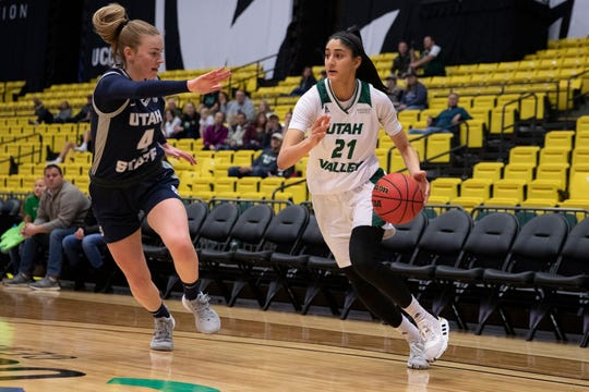 Coronado graduate Nehaa Sohail has overcome injury to contribute for Utah Valley.