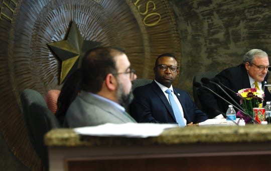 The El Paso City Council delayed a vote on whether to publicly condemn allegations of domestic violence against Northeast city Rep. Sam Morgan.