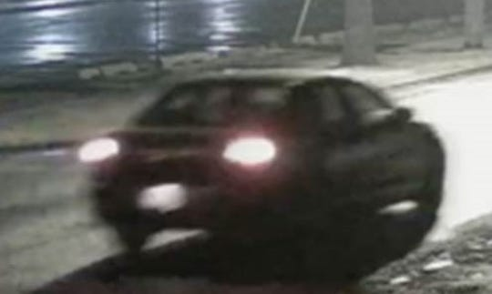Police said on Jan. 6, 2020, that this is a car of interest in the Yorktown vandalism spree. Police Chief Robert Noble said it was seen near the library when the library was vandalized.