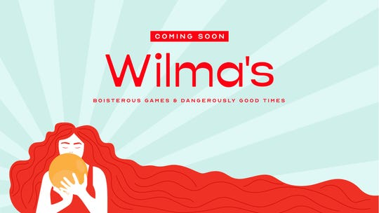 Wilma's, a new recreation hall with an arcade and duckpin bowling, will open in downtown Wilmington this fall.