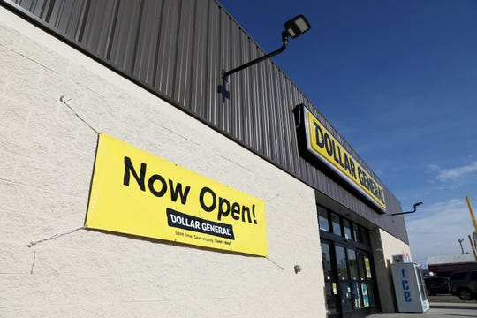The Dollar General on West Main Street in Zanesville opened recently.