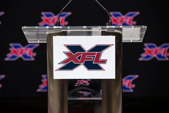 The XFL logo.