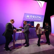 Delta unveiled new technology at CES in Las Vegas Jan. 7, 2020.