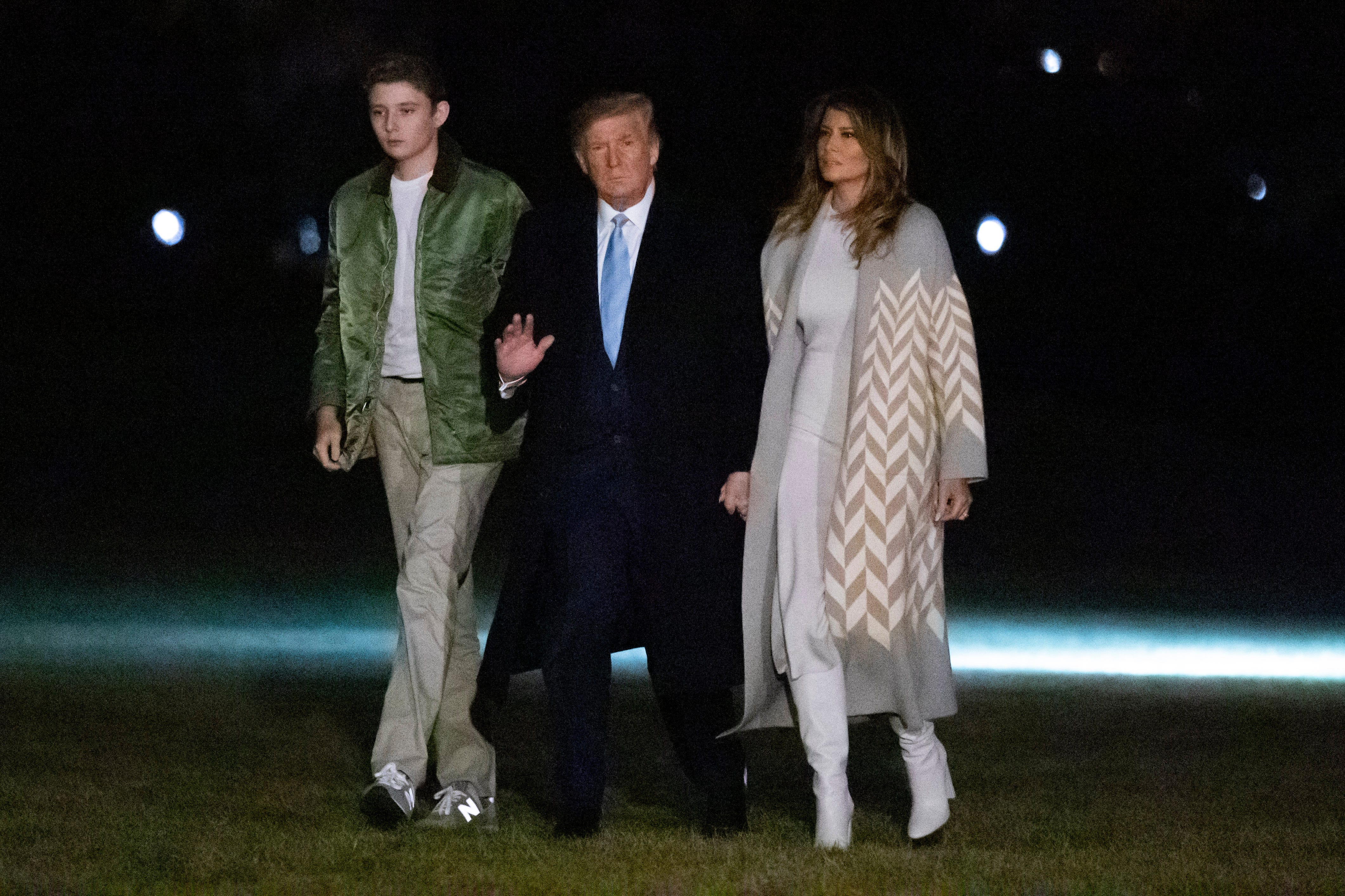 Melania Trump scolds Food Network host for  insensitive  tweet about son Barron