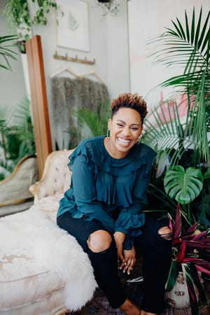 Kristian Henderson started BLK+GRN to help women introduce non-toxic products into their beauty routines. The public health professor and lifestyle expert tests every product she sells with her team of estheticians.