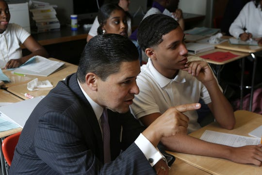 New York City Schools Chancellor Richard Carranza is an advocate for integration.
