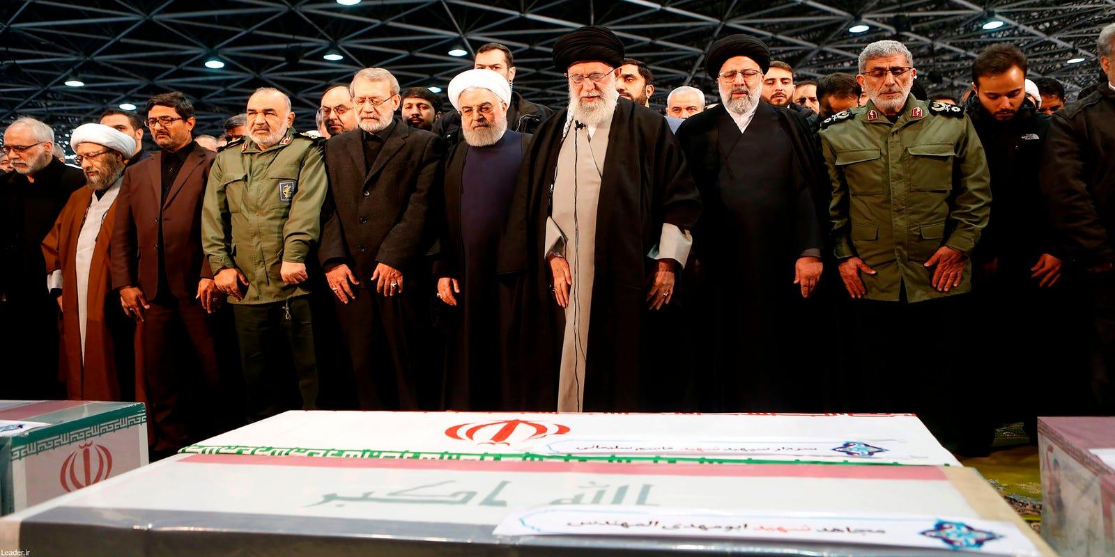 Iran brands U.S. military terrorists after Qasem Soleimani's killing