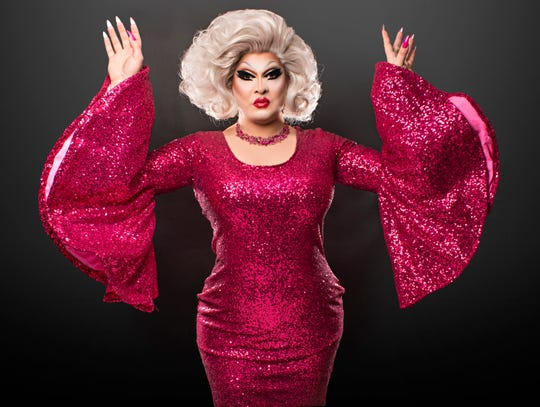 Pissi Myles is a star of the Asbury Park drag scene.