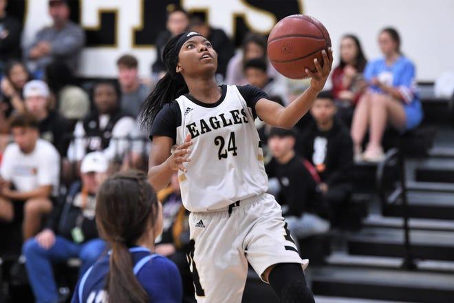 "Trakenya ""K.K."" Roberson returns for her senior season with the Abilene High girls basketball team. Roberson was a first-team all-district pick last season, as a a first-team All-Big Country Super Team selection."