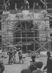 Construction on the Security Mutual Building, about 1904.