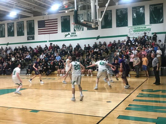 Action from Seton Catholic Central's 65-44 win over Norwich on Jan. 7, 2020.