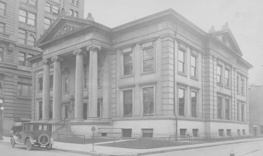 The Binghamton Public Library, about 1910.