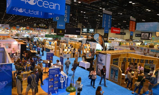 The 2020 Surf Expo is the largest and longest-running board sports and beach/resort lifestyle trade show in the world, with over a thousand exhibitors. It is taking place Jan. 8-12 at the Orange County Convention Center in Orlando.