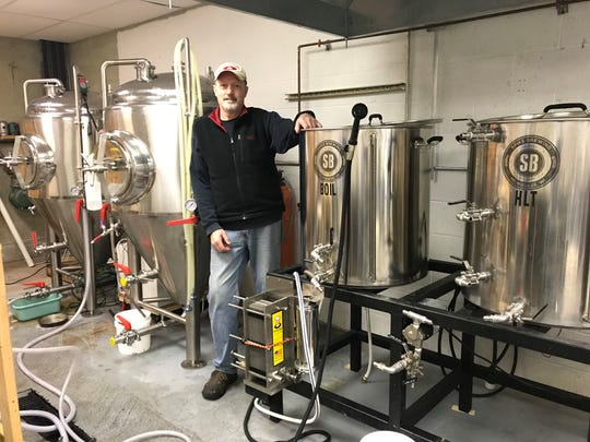 Head brewer Garry Murphy has been homebrewing for more than 30 years before joining 1803.