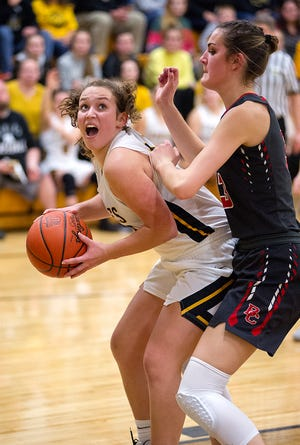 Colonel Crawford's Allison Teglovic picked up D-III first team honors, while Buckeye Central's Lexi Evak was named to the D-IV second team.