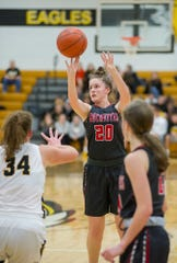 Buckeye Central's Ally Green picked up Third Team All-T-F honors.