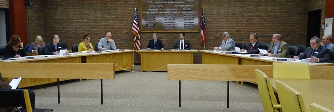 The newly seated Bucyrus City Council opens the first meeting of the 2020-2021 term.