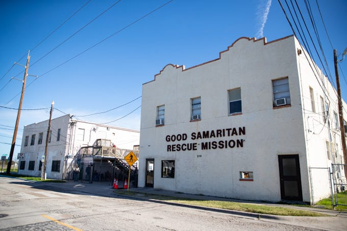 Good Samaritan Rescue Mission is located in the 200 block of S. Alameda Street.