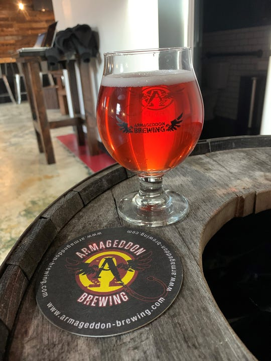 Ida's Heart is among the ciders available on opening day of Armageddon Brewing in Somerdale.