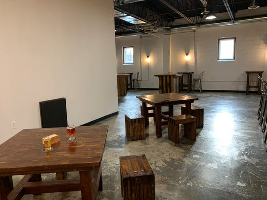 The tasting room of Armageddon Brewing, a new cidery/meadery in Somerdale.