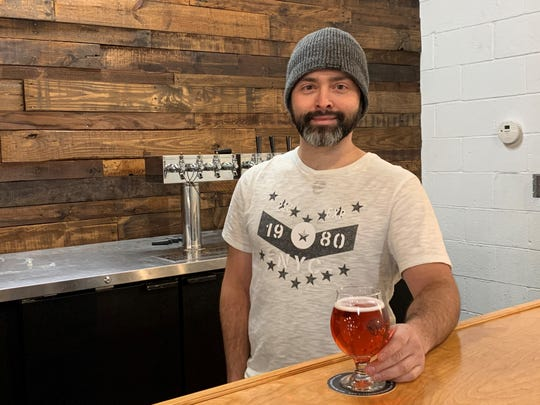 Armageddon cider and mead maker Chris Annese of Somerdale is excited to see the launch of his new business. It is located near Flying Fish Brewing Co. in Somerdale.