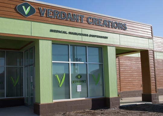Chillicothe's medical marijuana dispensary Verdant Creations is set to open on Thursday, Jan. 9, 2020.