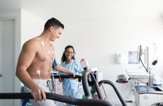 Obtaining an EKG credential may land a student a high-paying job as the demand for EKG techs increases.