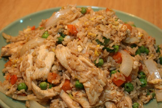 Siam Fried Rice at Asiana.