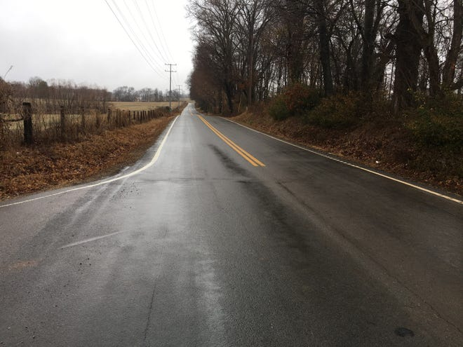 This narrow stretch of Rossview Road is being considered for widening sooner, rather than later, to accommodate increased traffic from new schools in the area.