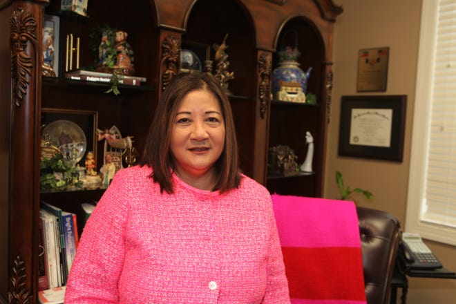 Dr. Barbara Aquino at her office in Clarksville in August 2019.
