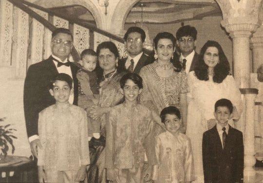 The Amin family.