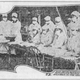 "This photo was in The Evening Tribune during the flu epidemic in 1918. The caption below the photo reads: ""Red Cross workers making influenza masks for soldiers in the cantonments."""