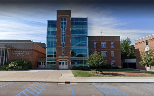 Grosse Pointe North High School in Grosse Pointe Woods.
