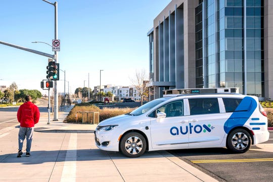 AutoX is launching a robotaxi service in China using Chrysler Pacifica hybrid minivans.