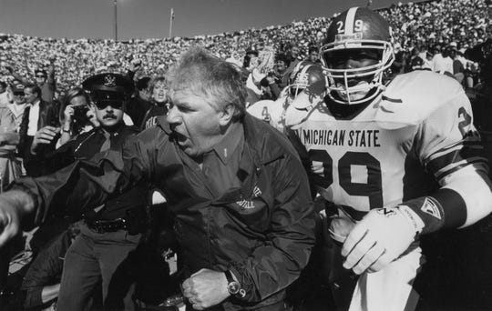 George Perles was Michigan State's head coach from 1983-94.