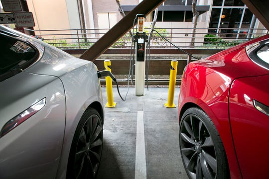 Proposed legislation would encourage installation of charging stations for electric vehicles.