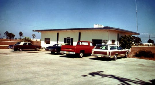 Cape Coral's first City Hall, pictured in 1970