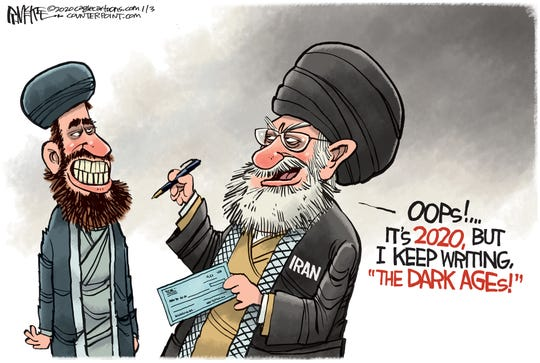 Iran's blank check for terrorism.