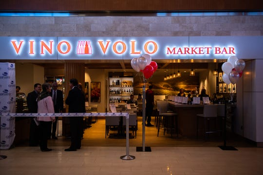 The new Vino Volo Market Bar at Greenville-Spartanburg International Airport celebrated its grand opening Wednesday, January 8, 2020.