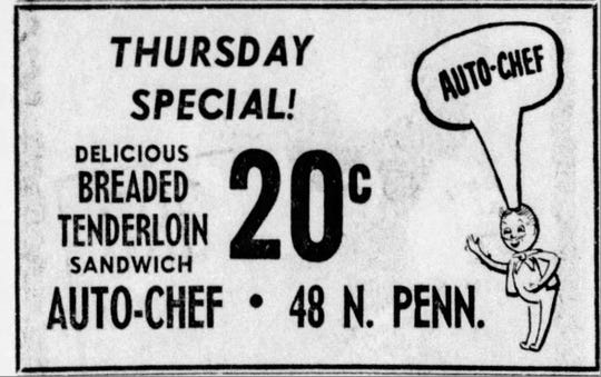 Auto-Chef ad from 1959