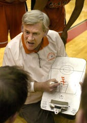 In this 2005 file photo, Steve Brunes is coaching Columbus East.